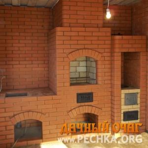 Барбекю-комплекс в доме, фото 2