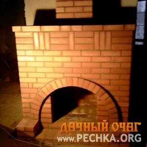 Большой камин с аркой, фото 2