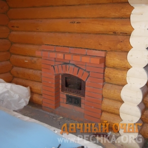 Фото Банная печь с духовкой