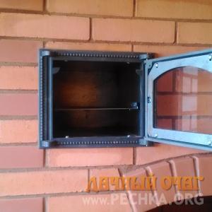 Печь с плитой под казан и духовкой, фото 4