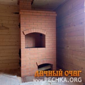 Печь отопительная с плитой (варочной панелью), фото 1