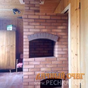 Печь с плитой для обогрева, фото 1