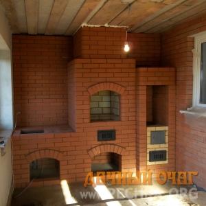 Барбекю-комплекс в доме, фото 1
