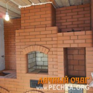 Барбекю-комплекс в доме, фото 3