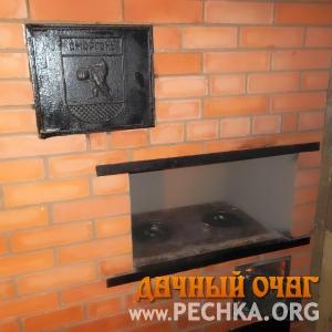 Печь с плитой и духовкой, фото 3