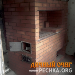 Печь с варочной панелью, фото 3