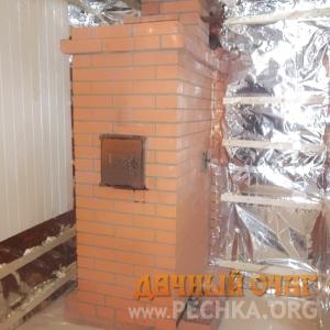 Банная печь с духовкой, фото 2