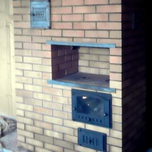 Отопительно-варочная печь, фото 1