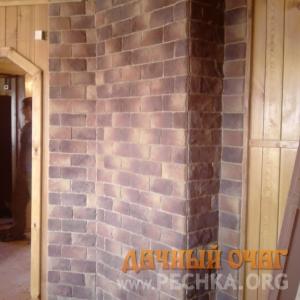 Печь с варочной панелью и облицовкой, фото 3