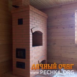 Печь отопительная с плитой (варочной панелью), фото 2